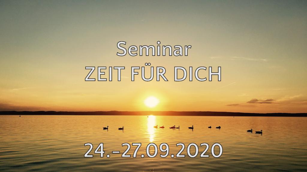 Seminar Zeit für Dich - Brigitte Gitti Erler - Michael Deutschmann - Sperlhof Windischgarsten - 24.-27.9.2020 - metime - Auszeit Urlaub Österreich
