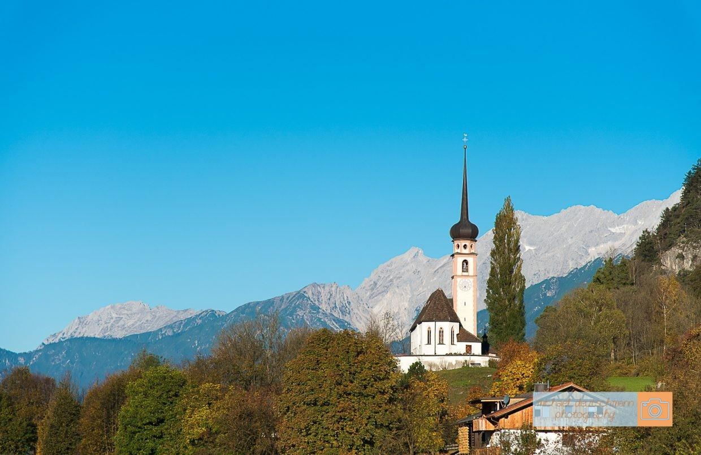 Kirche Inntal Mieminger Kette Tirol Herbst autumn - Michael Deutschmann, Akad. Mentalcoach - Photography - Mentalcoaching Hypnose Seminare - Mental Austria